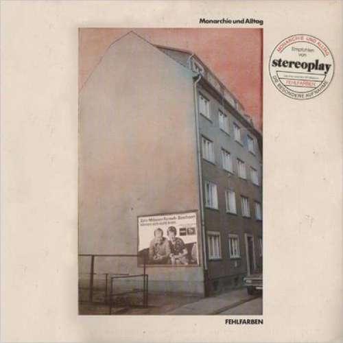 Cover Fehlfarben - Monarchie Und Alltag (LP, Album, Gre) Schallplatten Ankauf
