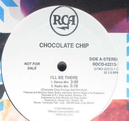 Bild Chocolate Chip - I'll Be There (12, Promo) Schallplatten Ankauf