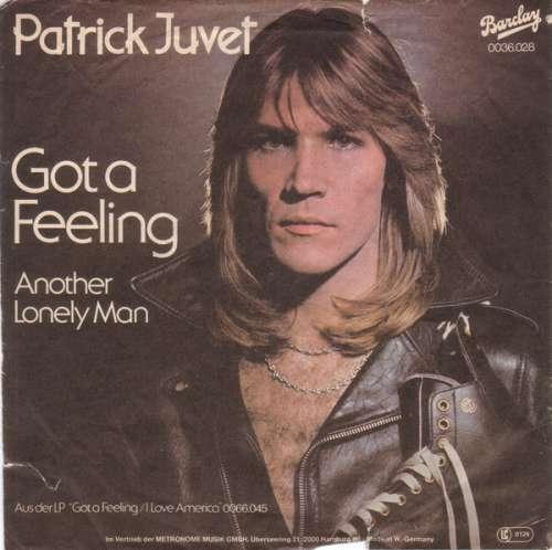 Bild Patrick Juvet - Got A Feeling (7, Single) Schallplatten Ankauf