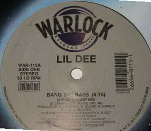 Cover Lil' Dee - Bang The Bass (12) Schallplatten Ankauf