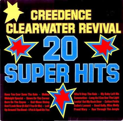 Cover Creedence Clearwater Revival - 20 Super Hits (LP, Comp) Schallplatten Ankauf
