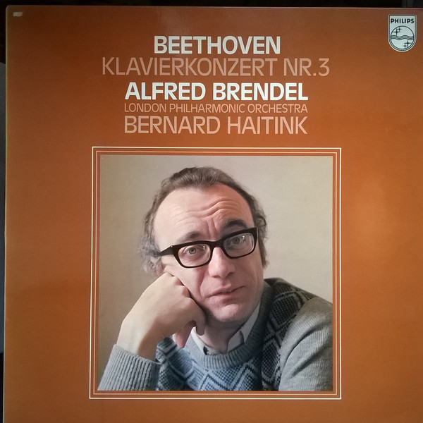 Cover zu Beethoven*  - Alfred Brendel, London Philharmonic Orchestra*, Bernard Haitink - Klavierkonzert Nr.3  (LP, Album) Schallplatten Ankauf